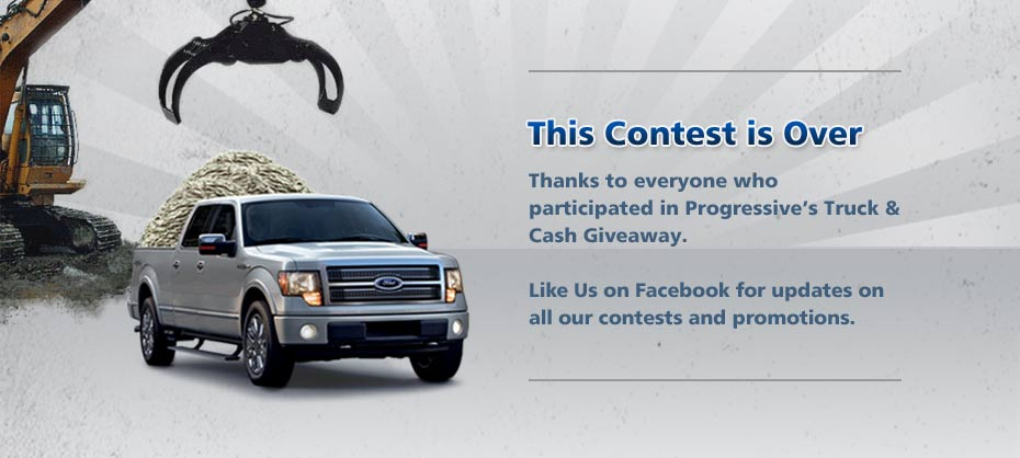 2010 Truck and Cash Giveaway - This contest is over