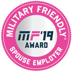 Military Friendly Spouse Employer - MF'19 Award
