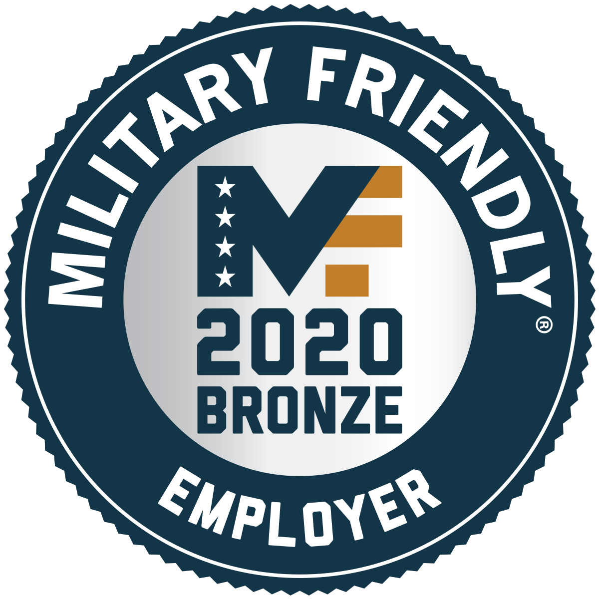 Military Friendly Companyr - MF'19 Award