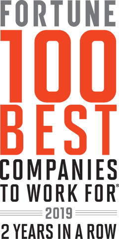 Fortune 100 Best Companies to Work for 2019