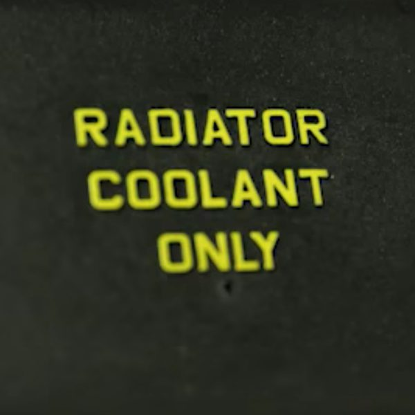radiator coolant only