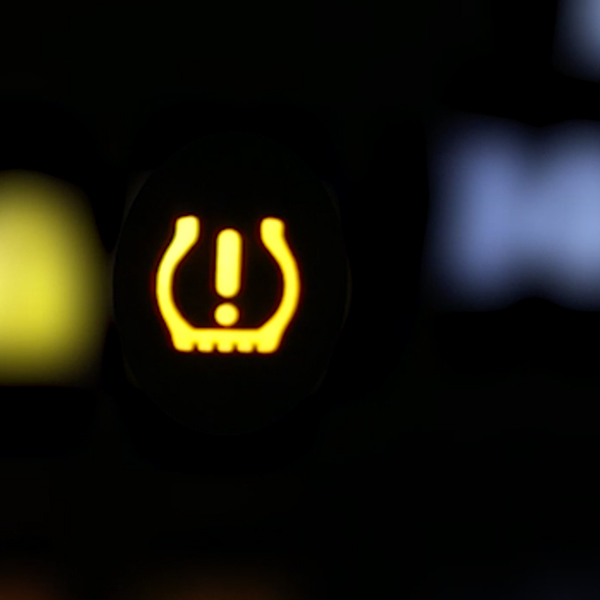 check tire pressure warning light