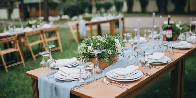 Backyard Wedding Receptions 6 tips for a dream backyard wedding | progressive