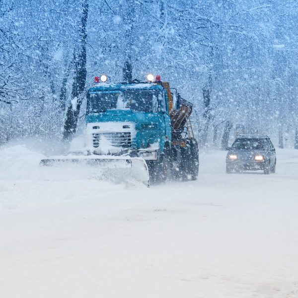 Snowplow safety tips