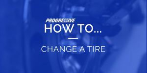 how to change a tire text
