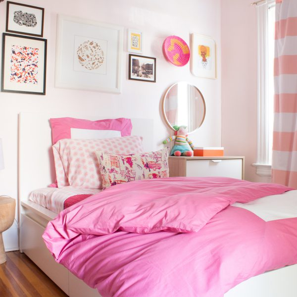 kids pink bedroom