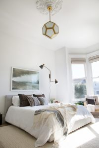big white bedroom