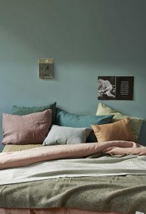 sea foam green bedroom