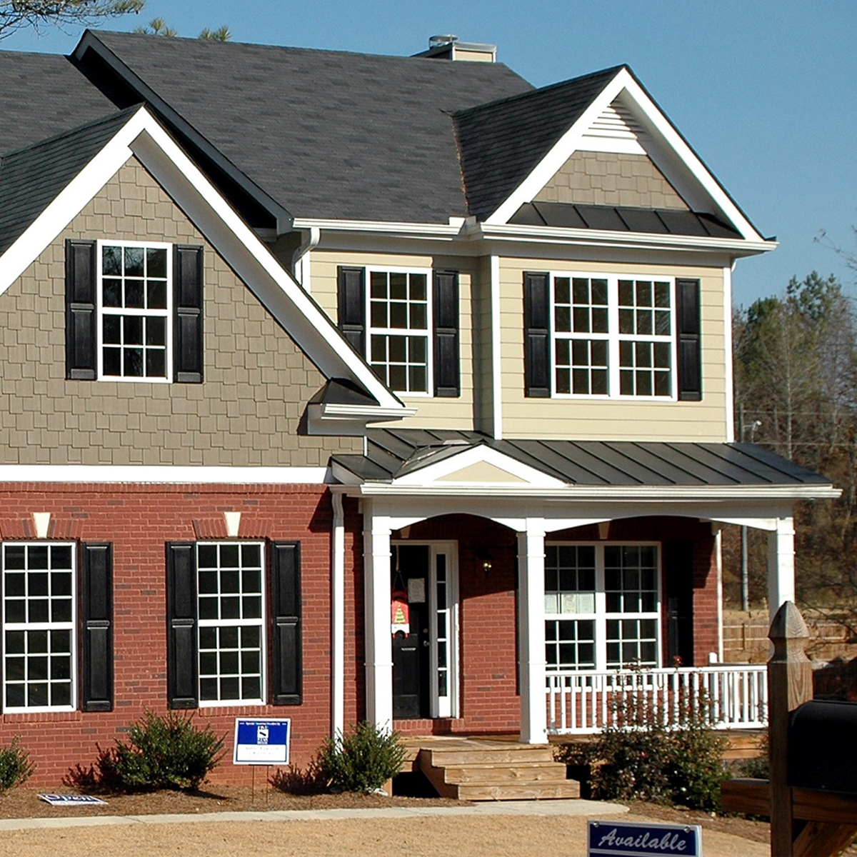 two story home