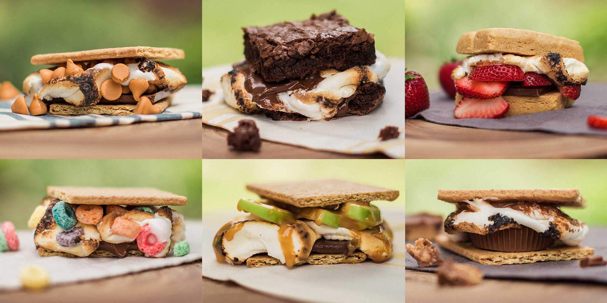 different s'more recipes
