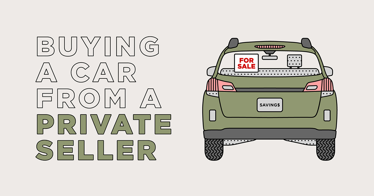 tips for buying a car from a private seller progressive