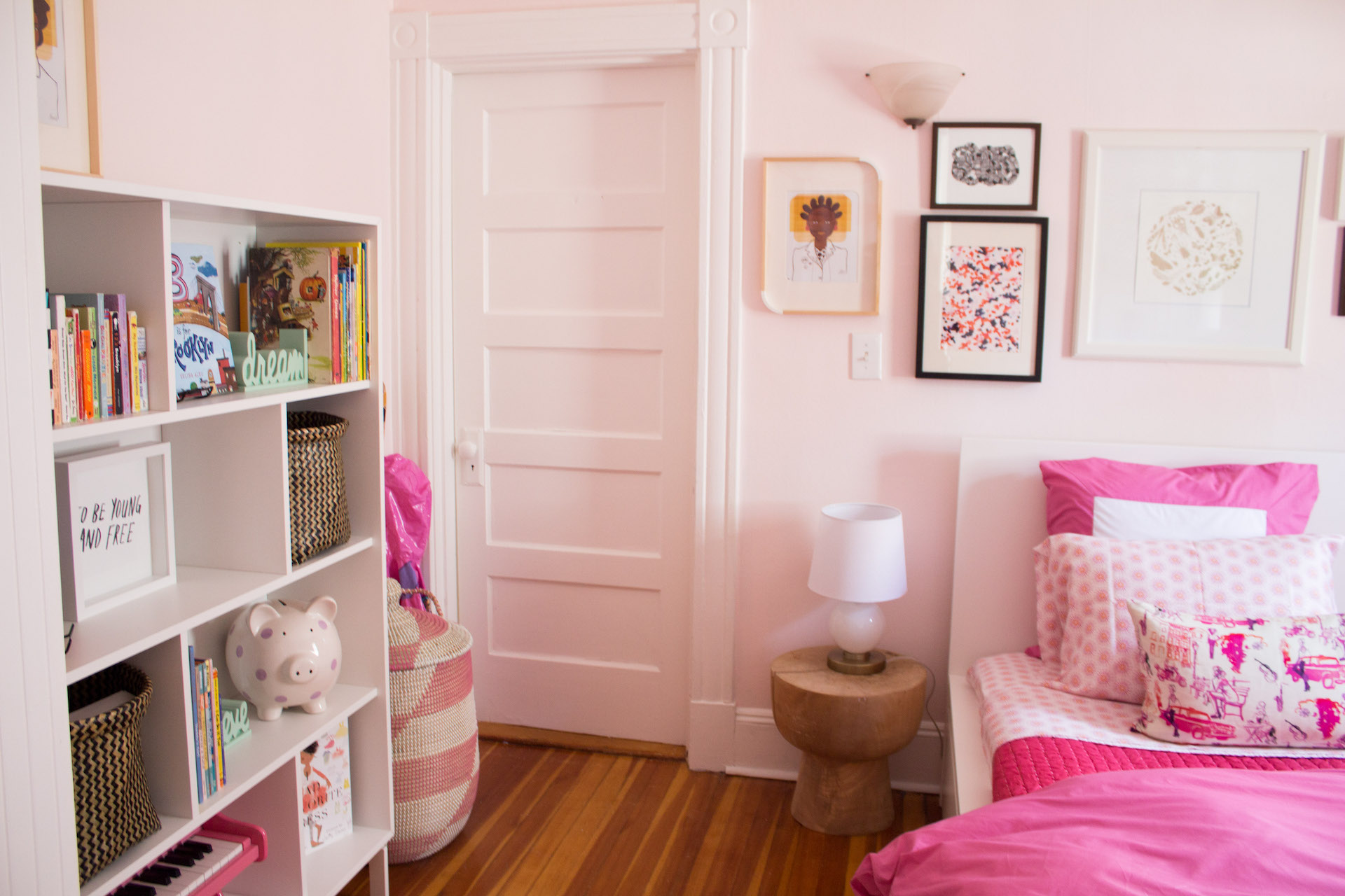Pink children's room